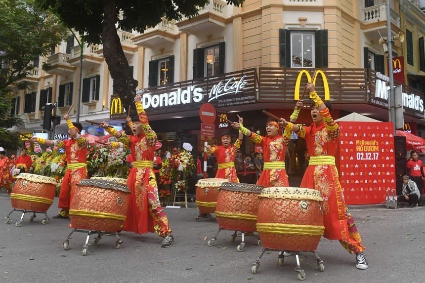 The McDonald's restaurant in Hanoi is the first in Vietnam outside of Ho Chi Minh City, where 16 branches have already opened.