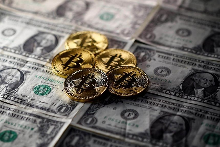 A bitcoin was worth about US$1,000 at the start of the year, but is now more than US$10,000.