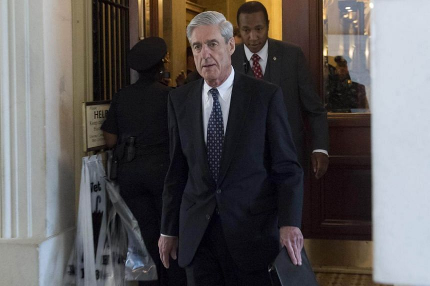 Former FBI Director Robert Mueller, special counsel on the Russian investigation, leaving following a meeting with members of the US Senate Judiciary Committee at the US Capitol in Washington, DC.