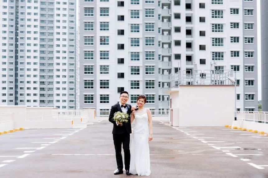 """Ms Tang Ji Ching and Mr Ng Kaijie tied the knot on Dec 2 so as to """"optimise"""" their leave, in order to go for a long honeymoon to South America."""