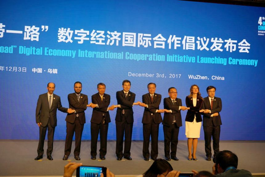 Signatories from China, Thailand, Laos, Saudi Arabia, Serbia, Turkey and the United Arab Emirates agreed to cooperate on digital development.