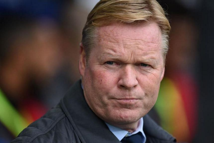 Ronald Koeman was fired in October after 16 months in charge of Everton.