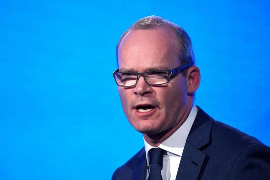"""Irish Foreign Minister Simon Coveney said talks with the UK government were in a """"sensitive place""""."""