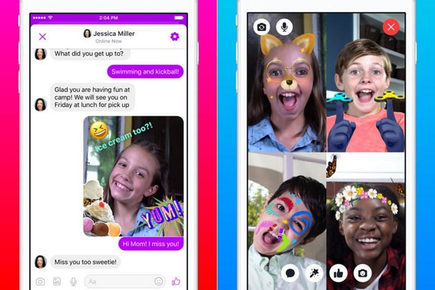 Messenger Kids is being rolled out for Apple iOS mobile devices in the US on a test basis as a stand-alone video chat and messaging app.