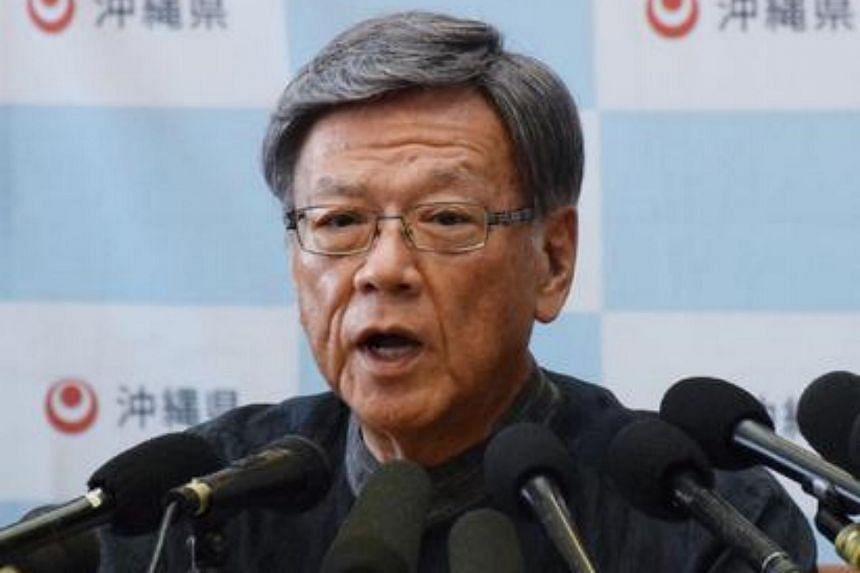 Okinawa Governor Takeshi Onaga asked Japan's Foreign Minister Taro Kono for a drastic amendment of the Japan-United States Status of Forces Agreement following a series of crimes and accidents involving US military-related personnel in Okinawa.
