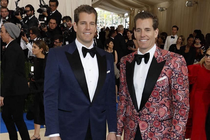 Tyler and Cameron Winklevoss - the Harvard University twins who famously sued Mark Zuckerberg claiming he stole their idea for Facebook - have become the world's first bitcoin billionaires.