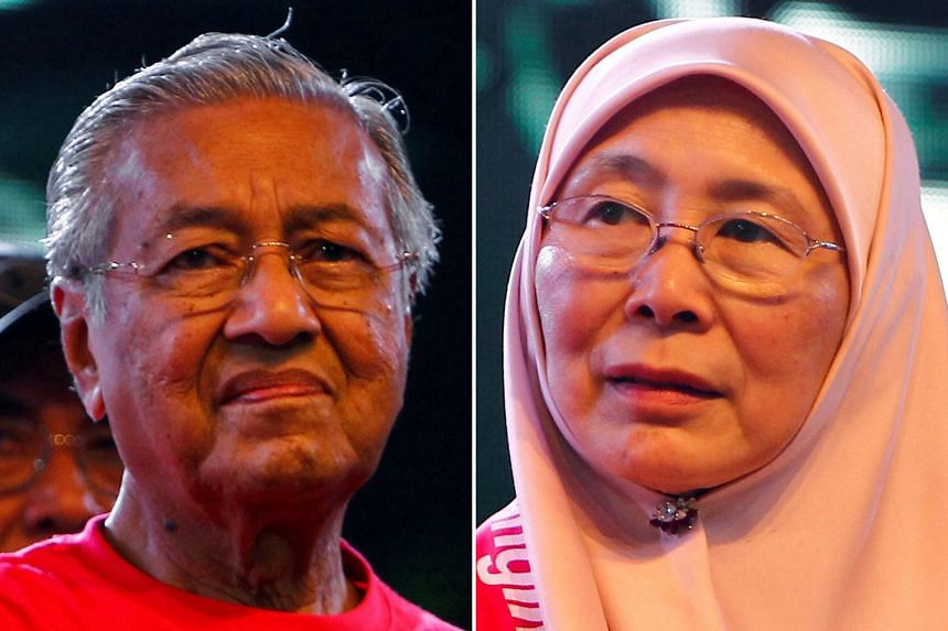 Pakatan Harapan has decided to have Tun Dr Mahathir Mohamad as PM and Datuk Seri Wan Azizah Wan Ismail as DPM if it wins the elections.
