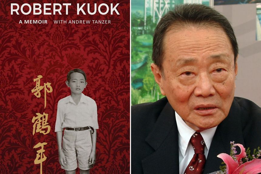 Mr Robert Kuok in a 2004 photo. The notoriously media-shy billionaire has opened up in a 376-page memoir (left).