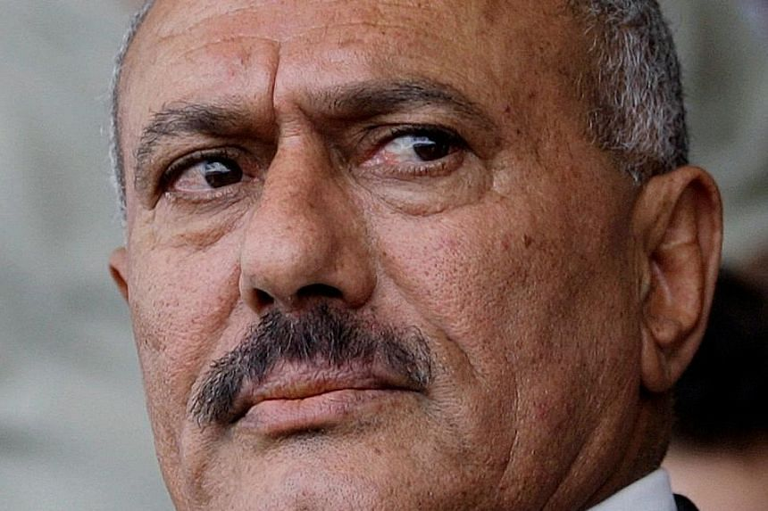 Sources in the Houthi group said fighters shot Mr Ali Abdullah Saleh dead.