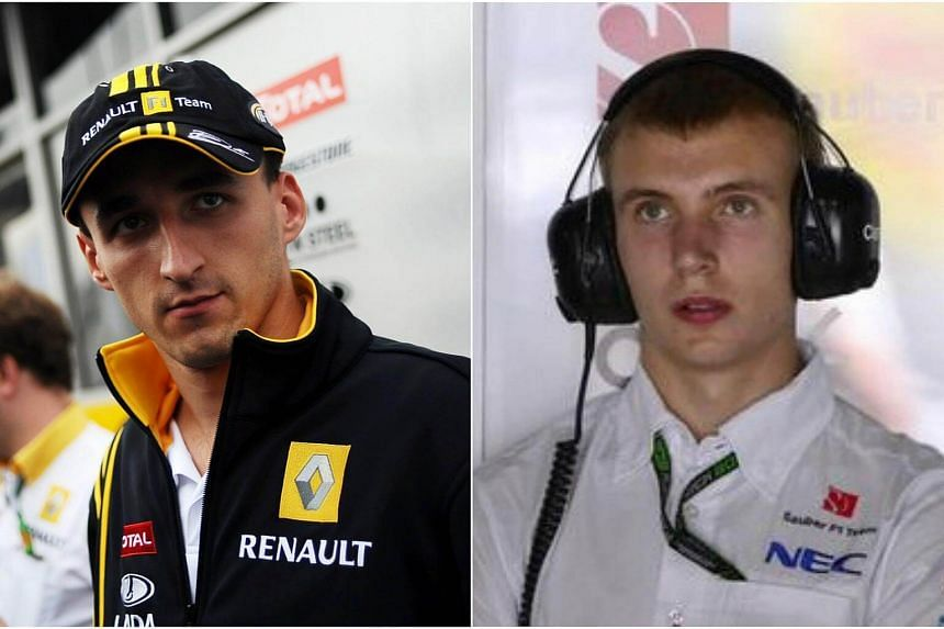 Robert Kubica (left) and Sergey Sirotkin are in the frame to replace Brazilian Felipe Massa alongside Canadian teenager Lance Stroll.