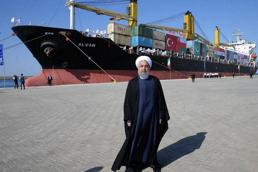 On Sunday (Dec 3), Iranian President Hassan Rouhani inaugurated the first phase of the port extension in Sistan-Baluchestan, south-eastern Iran.