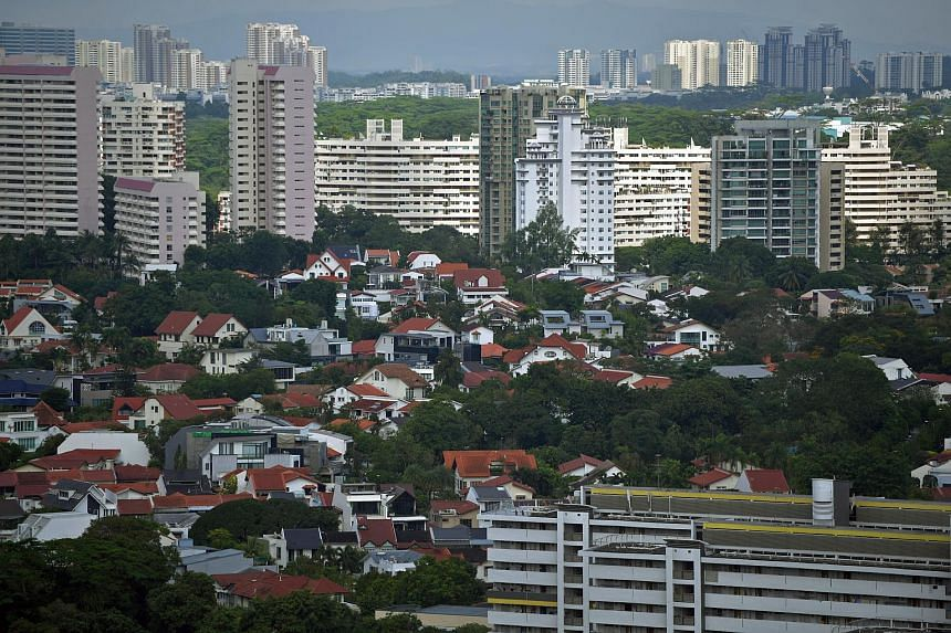 The home loan benchmark, the three-month Sibor or Singapore interbank offered rate, is up sharply.