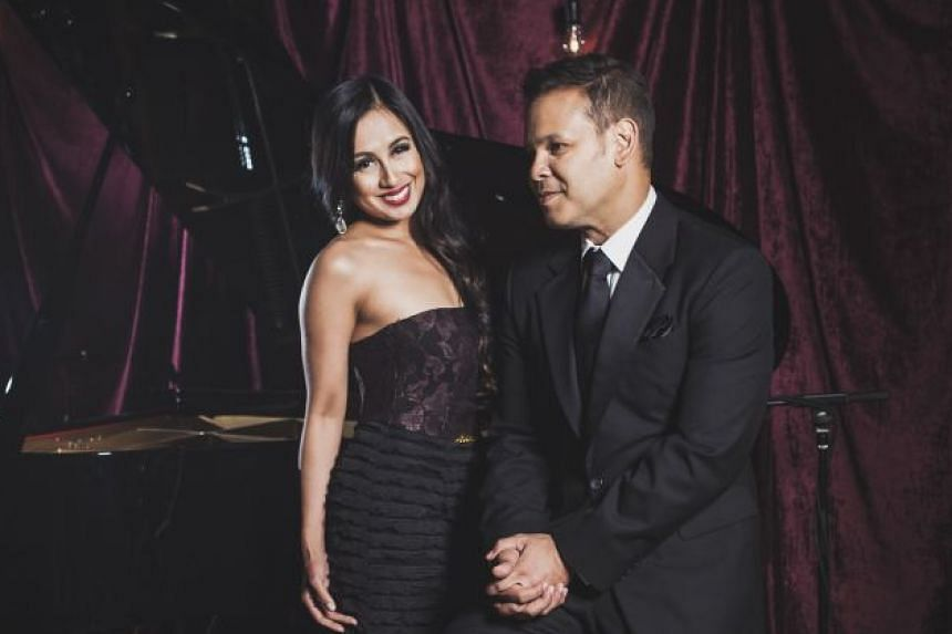 Malaysian crooner Sean Ghazi and American singer Stephanie Reese (both above) will perform favourites from hit musicals.