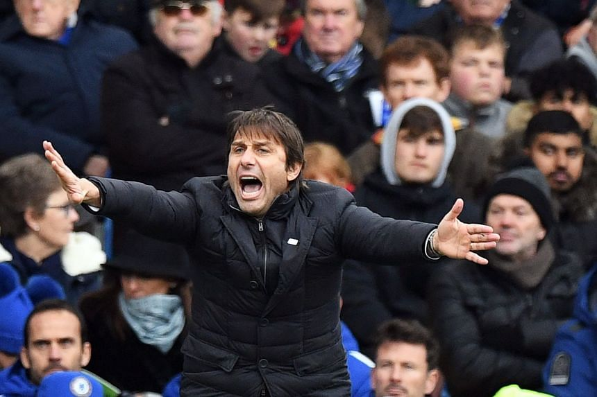 Conte back in action on Dec 2, 2017, for Chelsea's match against Newcastle United.