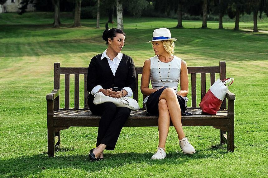 Rossy de Palma (left) and Toni Collette in Madame.