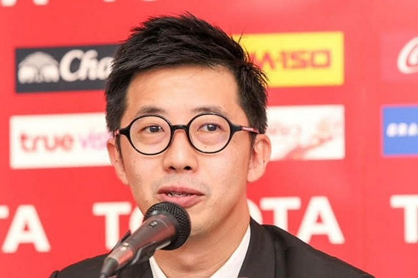 Benjamin Tan,  age 41, Premier League Thailand deputy CEO and director of club licensing.