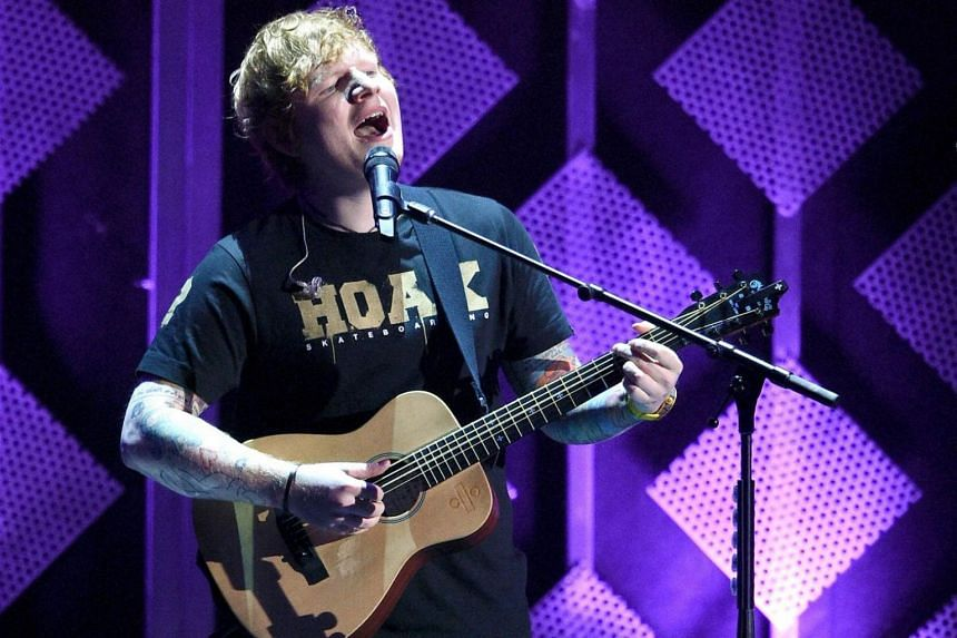 English singer-songwriter Ed Sheeran dominated Spotify in 2017, with his latest album Divide played 3.1 billion times worldwide.
