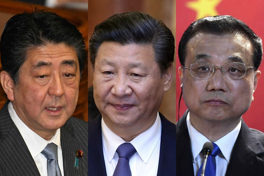 The accord follows last month's agreement between Japanese Prime Minister Shinzo Abe, Chinese President Xi Jinping and Chinese Premier Li Keqiang on improving bilateral relations.