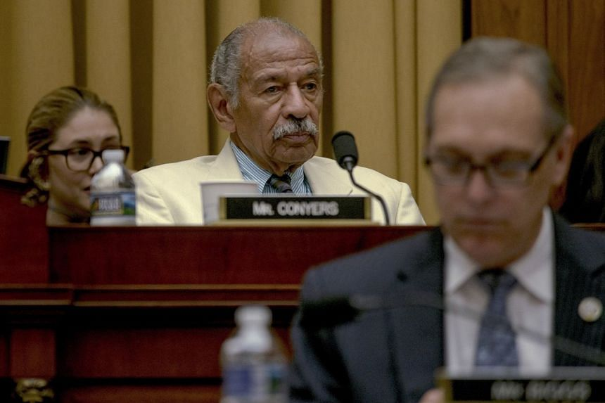 Conyers on Capitol Hill in Washington in July 2017.
