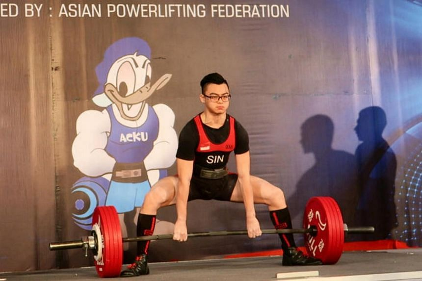 Singapore teenager Matthew Yap, 18, broke two world records in the men's Under-66kg sub-junior division (14- to 18-year-olds) at the ongoing Asian Classic Powerlifting Championships in India.