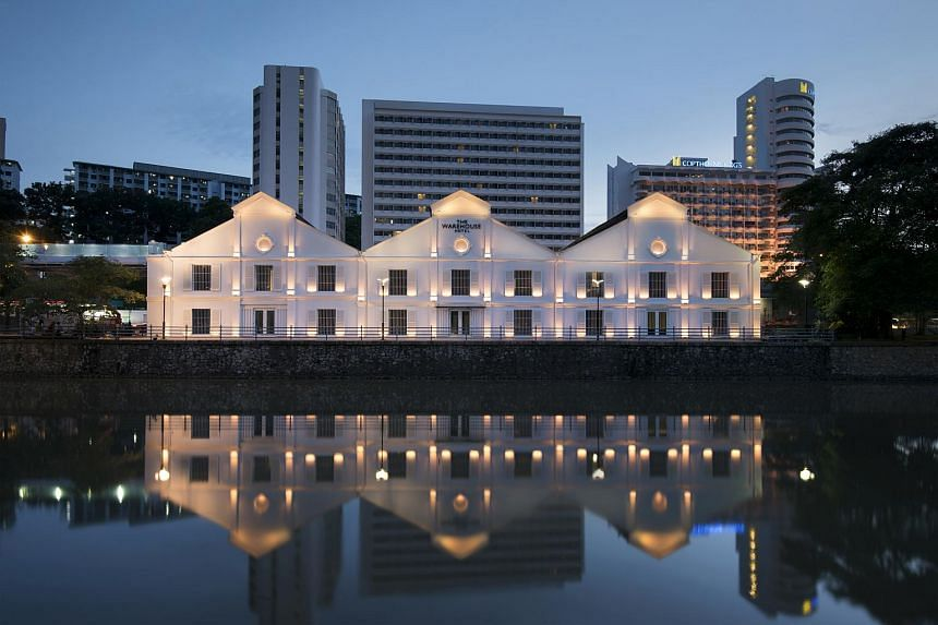 The Warehouse Hotel, which opened in January, is one of two Singapore projects which won at the Design For Asia Awards this year.