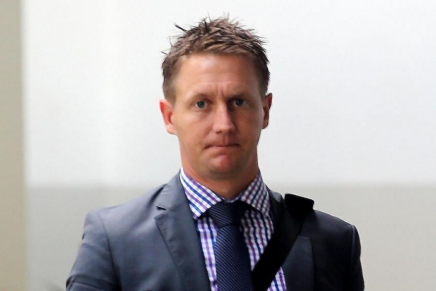 Wade James Burridge was sentenced to 11 months' jail and three strokes of the cane on Dec 6, 2017.