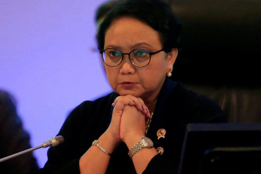 Indonesian Foreign Minister Retno Marsudi said she was told that US President Trump had not taken a final stance on the matter.