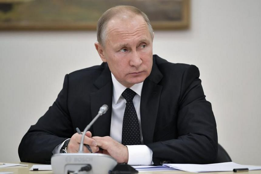 A spokesman for Russian President Vladimir Putin (above) said that the decision must be seriously analysed before making any judgments.