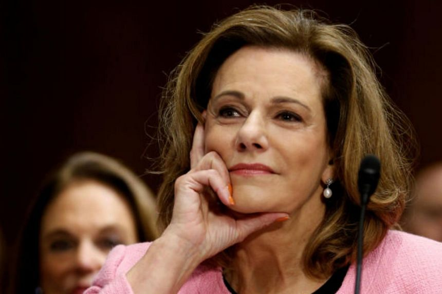 Ms McFarland's confirmation as ambassador was stalled after she appeared to have given contradicting statements about her knowledge of any communications between Russia's then Ambassador in Washington, and Mr Michael Flynn.