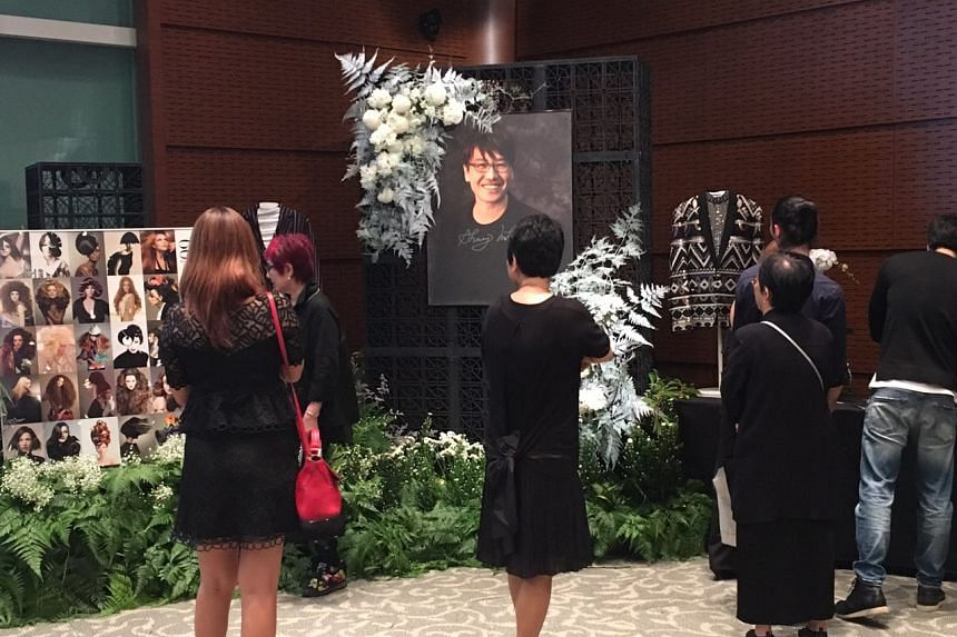 A memorial service for Shunji Matsuo held at The Star Gallery at The Star Performing Arts Centre.