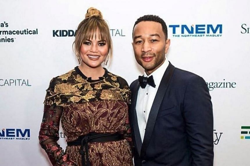 Chrissy Teigen (above, with her husband John Legend) gushed over the miniature food replicas on Snapchat.