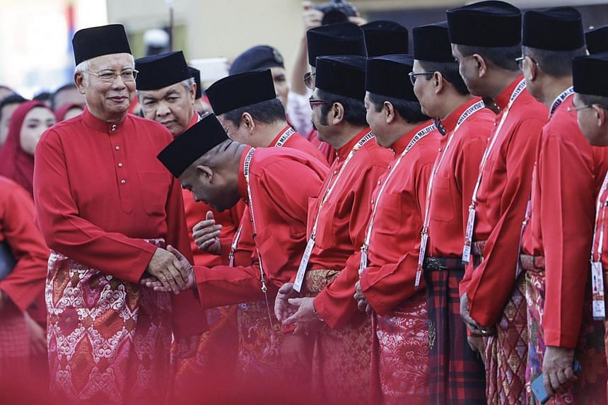 Umno leads the 13-party Barisan Nasional (BN) coalition in which each member, technically, has an equal voice.
