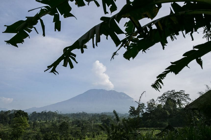 Mount Agung has recorded a sharp rise in activity that has raised worries about a repeat of a 1963 eruption that killed more than 1,000 people.