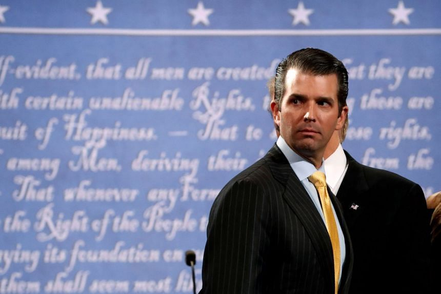 Donald Trump Jr was grilled behind closed doors in Congress about his contacts with Russia as pressure builds on his father over alleged collusion with Moscow in last year's election.