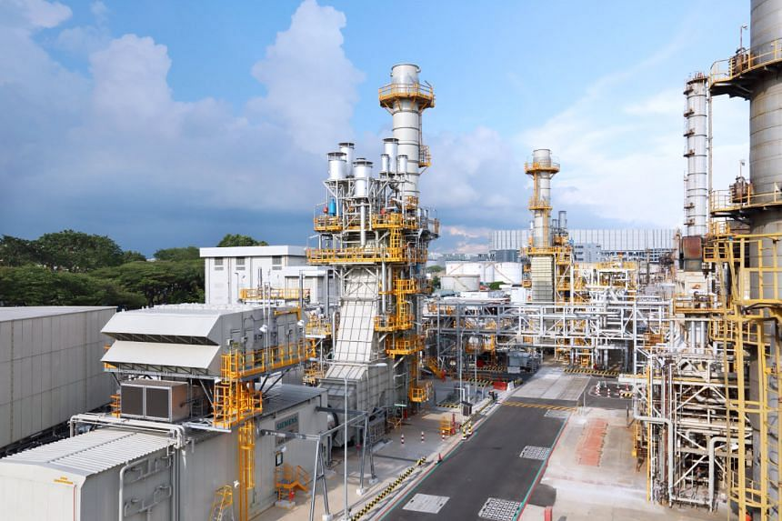 ExxonMobil's new Jurong Cogeneration Plant increases its Singapore Refinery's energy efficiency by 4 to 5 per cent. PHOTO: EXXONMOBIL
