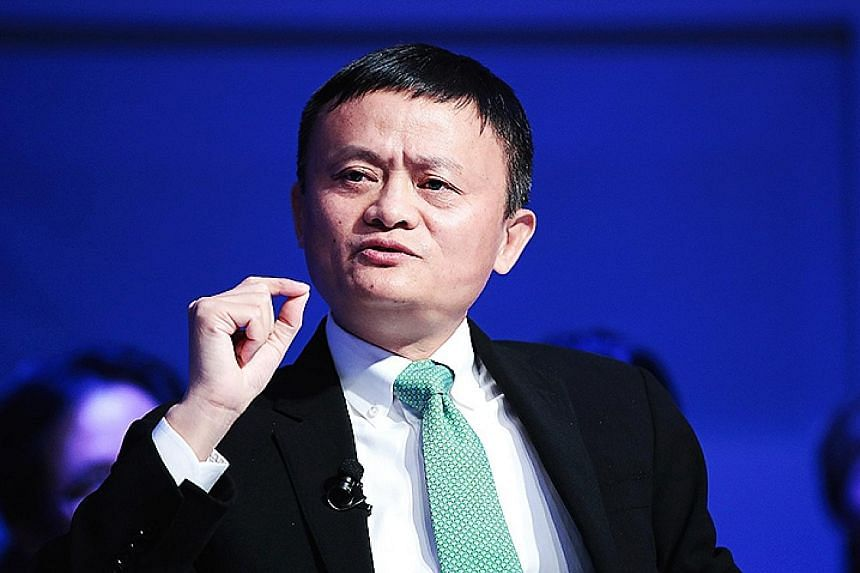 Alibaba executive chairman Jack Ma said he has confidence in China's potential.