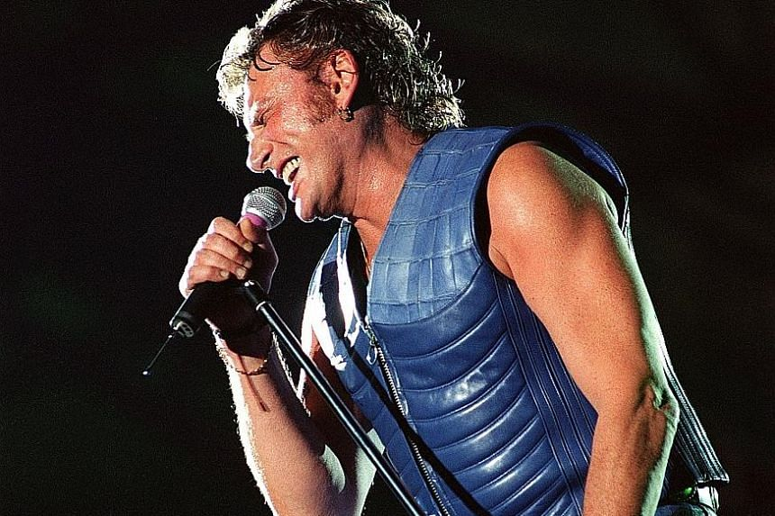 Johnny Hallyday's hard drinking, car crashes, wild partying and tempestuous love life made him a permanent headline in the French popular press.
