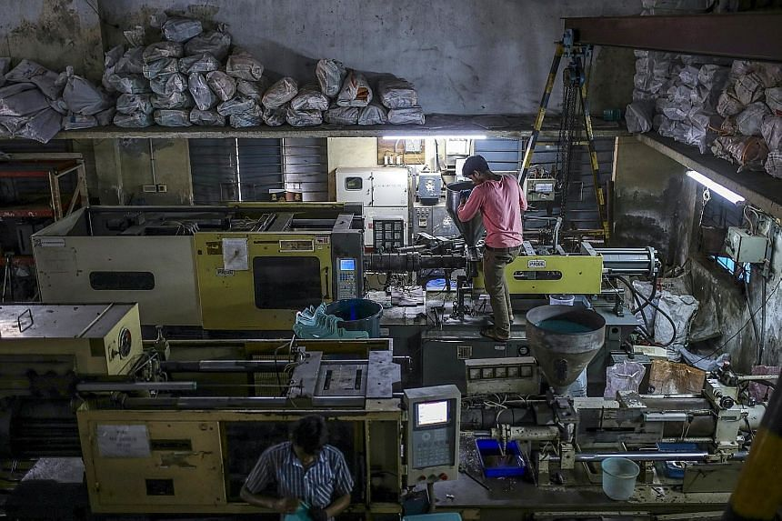 "Workers at the Bhupendra International facility in Chennai. Nicknamed the ""Detroit of India"" for its auto industry, Chennai is floundering even as it fends off increasing competition."