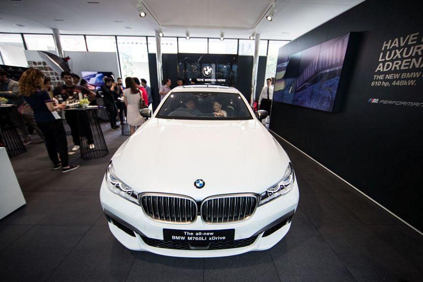 The BMW M760Li xDrive.