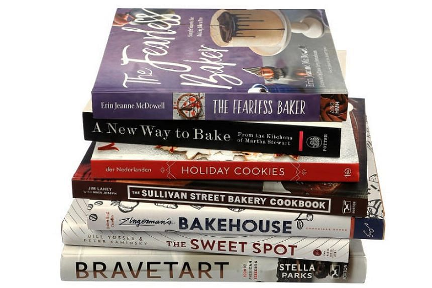 Average bakers can get questions on advanced baking techniques answered with baking cookbooks launched this year.