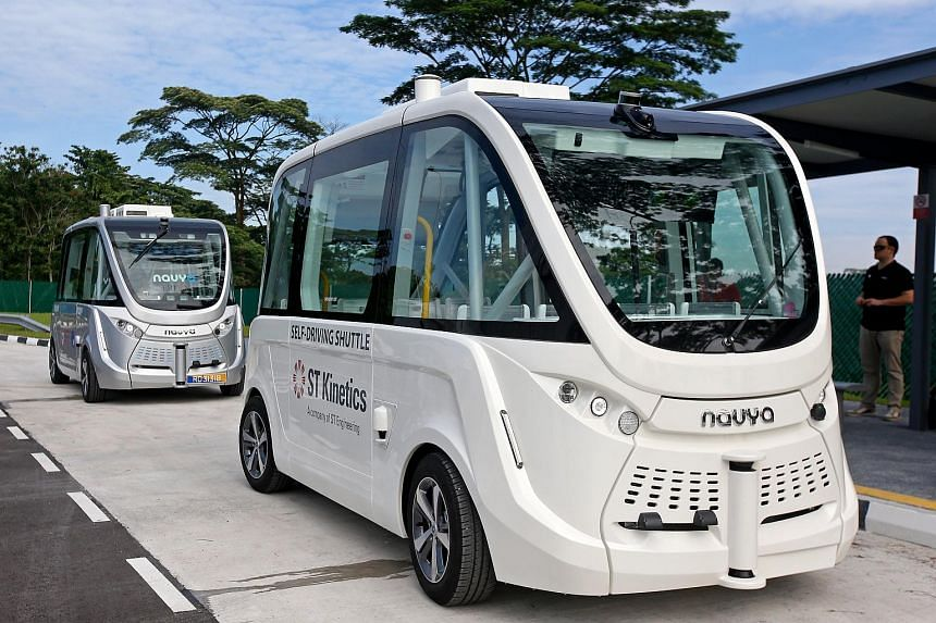 Among the first AVs to be tested would be autonomous buses for the Land Transport Authority that are under development.