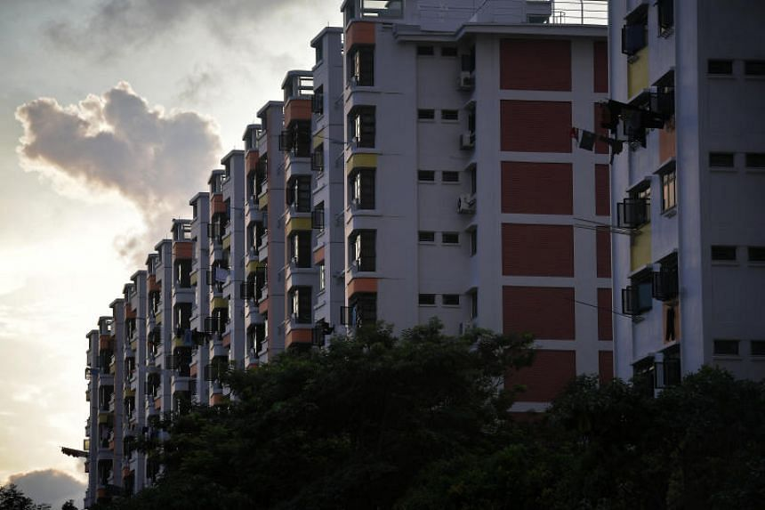 From a year ago, HDB resale prices in November were 2.3 per cent lower, and 12.6 per cent below their peak in April 2013.