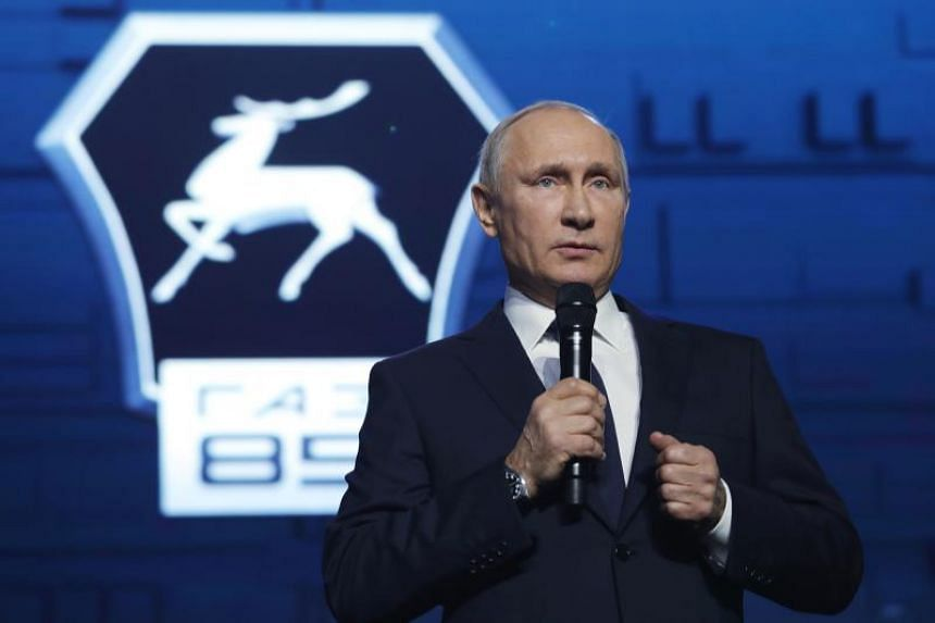 Russian President Vladimir Putin did not mince his words, saying that the IOC decision to ban Russia from the Pyeongchang Games was influenced by politics.