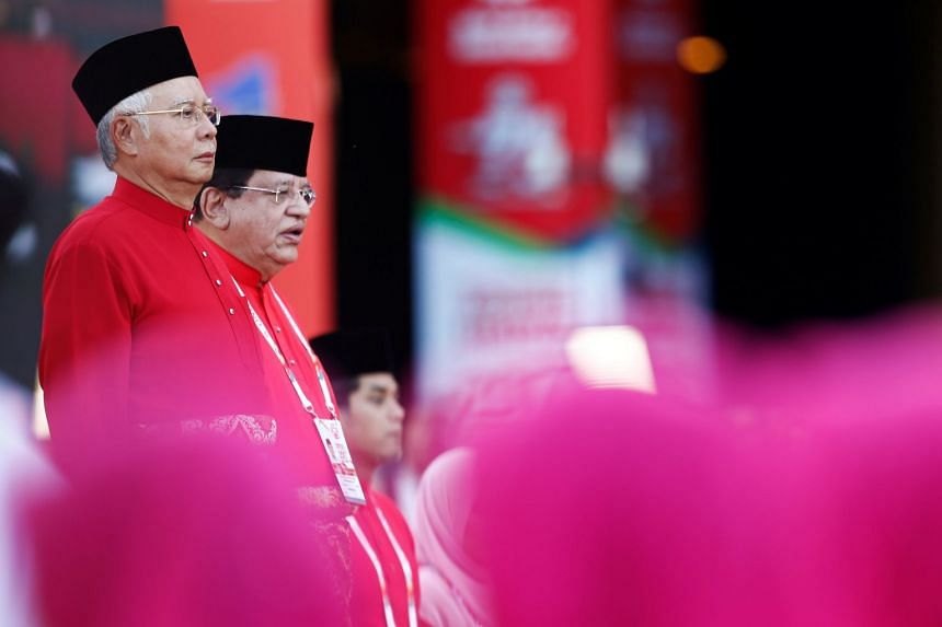 Malaysian Prime Minister Najib Razak (left) called on Muslims everywhere to strongly oppose any recognition of Jerusalem as Israel's capital.