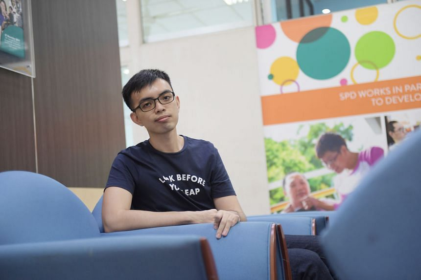 Mr Lee had to relearn how to do things like walk, sit up and swallow after his stroke. Now, he is studying at the National University of Singapore. He hopes to become a social worker and use his experience to help and support others, just as social