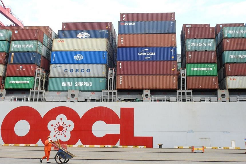 China's overseas shipments unexpectedly jumped as global demand remained firm, while import growth remained steady.