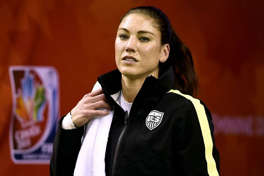 Former US women's national team goalkeeper Hope Solo announced her candidacy with a post on Facebook.