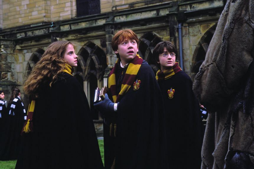 Cinema still of Harry Potter And The Chamber of Secrets.