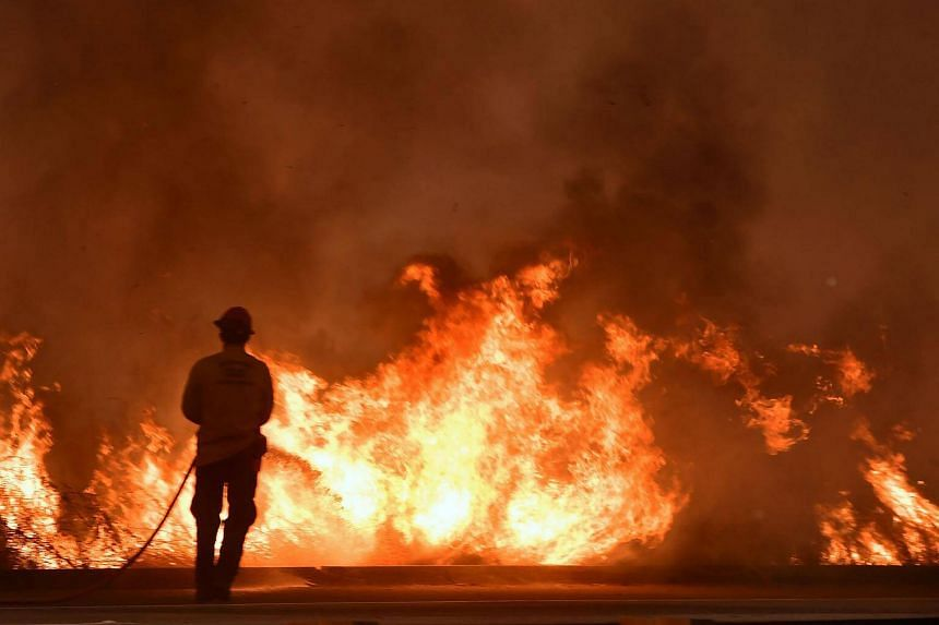 Despite the intensity of the southern California fires, only one fatality has been reported so far.