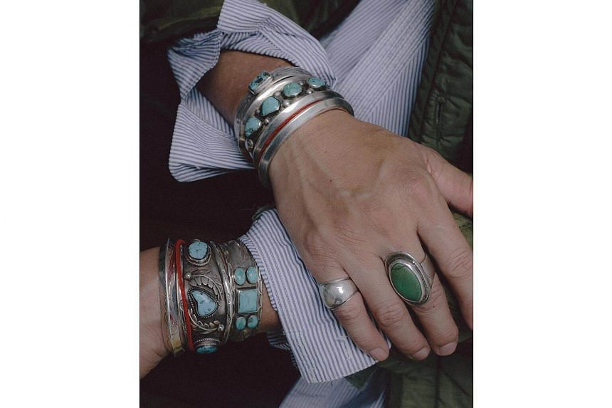 The combination of turquoise and silver has a long history, and is often associated with Native American cultures and the hardscrabble myth of the Western frontier.